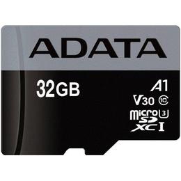 MicroSDHC 32Гб A-Data Класс 10 UHS-I U3 Premier Pro (SD адаптер)
