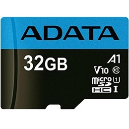 MicroSDHC 32Гб A-Data Класс 10 UHS-I Premier A1 (с адаптером)
