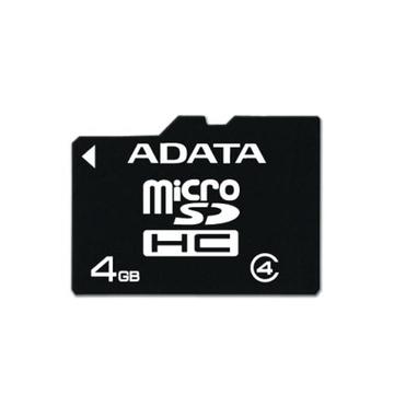 MicroSDHC 04Гб A-Data Класс 4 (без адаптера)