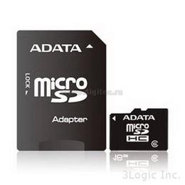 MicroSDHC 04Гб A-Data Класс 6 (адаптер)