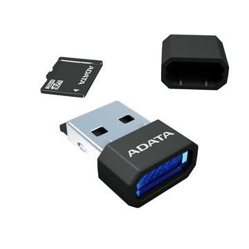 MicroSDHC 08Гб A-Data Класс 10 Blue (microReader V3 BKBL)