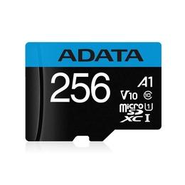 MicroSDXC 256B A-Data Класс 10 UHS-I Premier A1 (с адаптером)