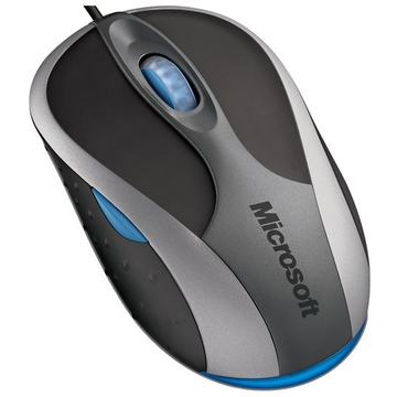 Microsoft Notebook Optical Mouse 3000 Black Grey