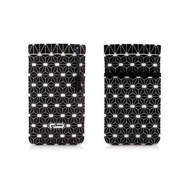 Чехол Bone Phone Cell Plus Black (для iPhone/iPod, силикон, микрофибра, 85x152x4 мм)