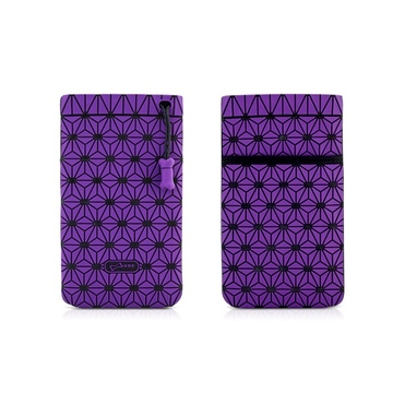 Чехол Bone Phone Cell Plus Violet (для iPhone/iPod, силикон, микрофибра, 85x152x4 мм)