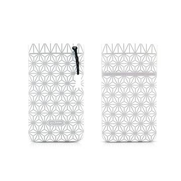 Чехол Bone Phone Cell Plus White (для iPhone/iPod, силикон, микрофибра, 85x152x4 мм)
