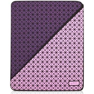Чехол Bone Cell Purple (для iPad3, силикон/микрофибра)