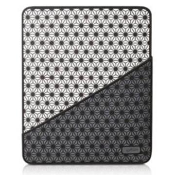 Чехол Bone Starflake White Black (для iPad3, силикон/микрофибра)