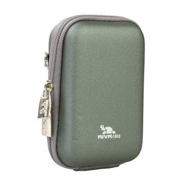 Чехол для фотоаппарата RivaCase 7103 Digital Case Green (newspaper, PU, полиуретан, 10x6.5x2.5см)