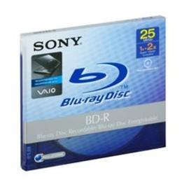 Blu-Ray BD-R Sony Jewel Case 1шт (25GB, 2x)