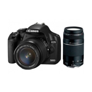 Canon EOS 550D Double Kit 18-55mm, 75-300mm DC