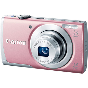 Canon PowerShot A2600 Pink