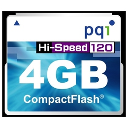 Compact Flash 04Гб PQI