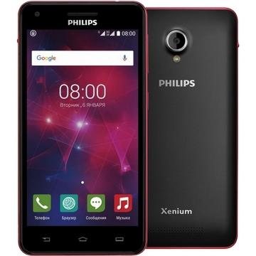 Philips Xenium V377 Black Red