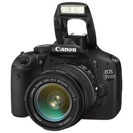 "Цифровая зеркальная фотокамера Canon EOS 550D KIT 18-55IS+55-250 IS (18.7Mp, EF/EF-S, 3.0"""", SD/SDHC/SDXC, LP-E8)"