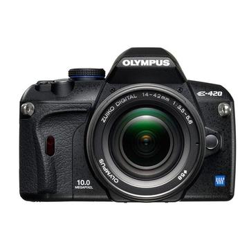 Olympus E-420 Kit 14-42mm, 40-150mm EZ