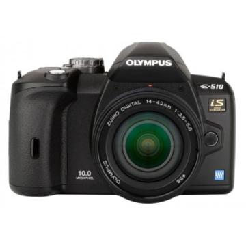 Olympus E-520 Tele Kit 14-42mm, 70-300mm EZ