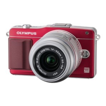 Olympus E-PM2 Red Kit 14-42mm Silver
