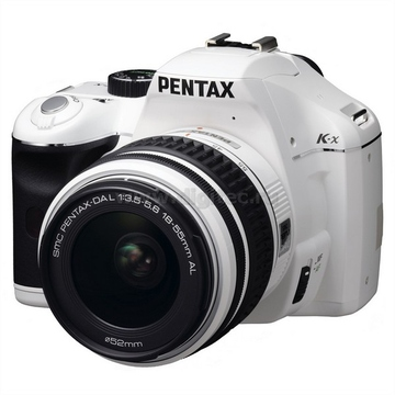 Pentax K-x Kit 18-55mm White