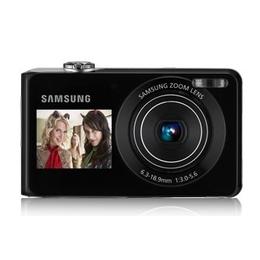 "Компактный фотоаппарат Samsung PL100 Black (12Mp, 1/2.3"" 3x 2.7""+1.5"" LCD, SDHC)"
