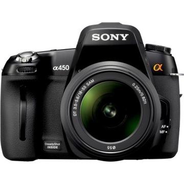 Sony DSLR-A450 Kit 75-300mm