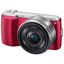 "Фотоаппарат беззеркальный Sony NEX-C3K Kit 18-55mm Pink (16.2Mp, 3.0"" LCD, AVCHD, Video 720p, ISO12800)"