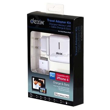 Адаптер питания сетевой (USB-разъем + кабель, для iPad, iPhone, iPod)