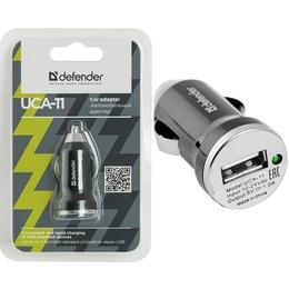 Зарядное устройство Defender UCA-11 White (автомобильноеб USB, 1A)