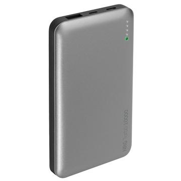 Портативный аккумулятор Deppa 33518 Black (microUSB/USB-C/USB-выход, 10000mAh, 2A)