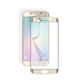 Стекло защитное Deppa 61975 Gold (для Samsung SM-G925 Galaxy S6 edge, толщина 0,4мм, пленка в комплекте)