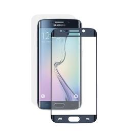 Стекло защитное Deppa 61976 Blue (для Samsung SM-G925 Galaxy S6 edge, толщина 0,4мм, пленка в комплекте)