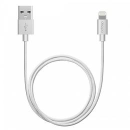 Кабель Deppa 72187 USB2.0-Lightning MFI Silver (1,2м)