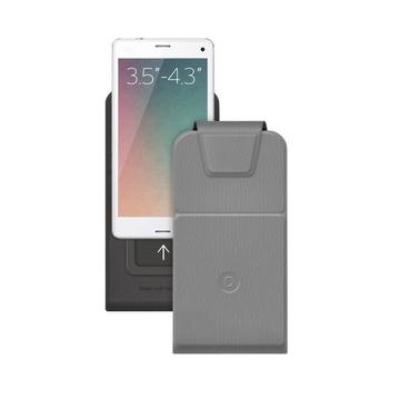 """Чехол Deppa Flip Slide 81030 Gray (для смартфонов 3,5"""" - 4,3"""")"""