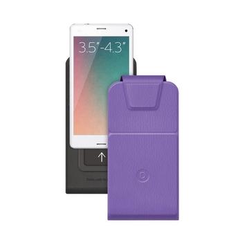 """Чехол Deppa Flip Slide 81031 Violet (для смартфонов 3,5"""" - 4,3"""")"""
