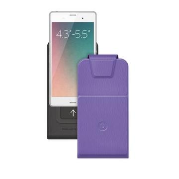 """Чехол Deppa Flip Slide 81051 Violet (для смартфонов 4,3"""" - 5,5"""")"""