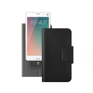"Чехол Deppa Wallet Slide 84040 Black (для смартфонов 3,5"" - 4,3"")"