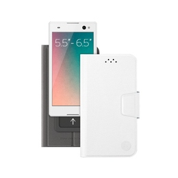 "Чехол Deppa Wallet Slide 84051 White (для смартфонов 5,5"" - 6,5"")"
