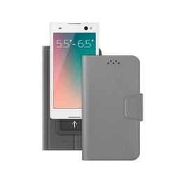 "Чехол Deppa Wallet Slide 84052 Gray (для смартфонов 5,5"" - 6,5"")"