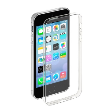 Чехол Deppa Gel Case 85201 Clear (для iPhone 5, пленка в комплекте)