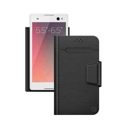 """Чехол Deppa Wallet Fold 87010 Black (для смартфонов 5,5"""" - 6,5"""")"""