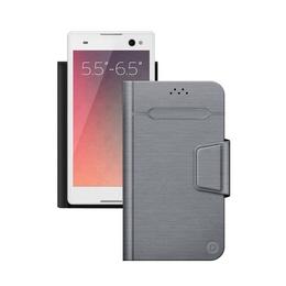 """Чехол Deppa Wallet Fold 87011 Gray (для смартфонов 5,5"""" - 6,5"""")"""