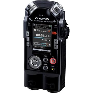 "Olympus LS-100 (PCM, 4Gb int., SD/SDHC/SDXC, 2.0 """", WAV/ MP3, Li-50B)"