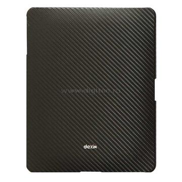 Чехол кожаный черный (для iPad, в комлекте пленка для защиты экрана от царапин)