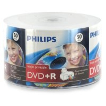 Диск DVD-R Philips Bulk 50шт (4.7GB, 16x, Printable)