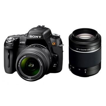 Sony DSLR-A500Y Double Kit 18-55mm, 55-200mm