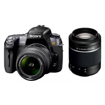 Sony DSLR-A550Y Double Kit 18-55mm, 55-200mm