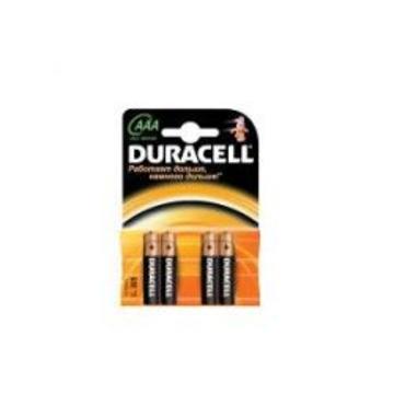 Батарейка Duracell LR03-6BL Basic (щелочная, LR03 (AAA), 1.5 В, 5 шт. +1 бесплатно, в блистере)