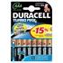 Батарейка Duracell LR03-8BL Turbo , 1.5 В, 6 шт. +2 бесплатно, в блистере)