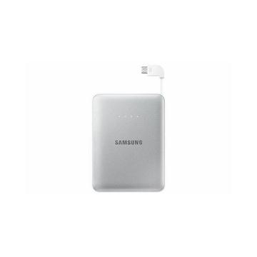 Портативный аккумулятор Samsung EB-PG850B Silver (microUSB/USB-выход, 8.4mA)