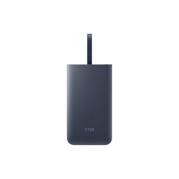 Портативный аккумулятор Samsung EB-PG950C Blue (microUSB/USB-выход, кабель microUSB+USB-C, 5100mAh, 2A)